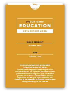 Education Report Card Cover