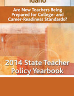4 State Teacher Policy Yearbook cover